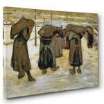 Vincent Van Gogh Reprodüksiyon Kanvas Tabloları 4