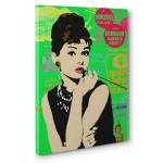 Audrey Hepburn Kanvas Tabloda Canlanıyor 4