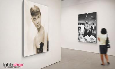 Audrey Hepburn Kanvas Tabloda Canlanıyor 8