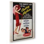 Audrey Hepburn Kanvas Tabloda Canlanıyor 5