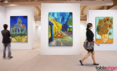 Vincent Van Gogh Reprodüksiyon Kanvas Tabloları 2